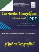 Corrientes Geograficas