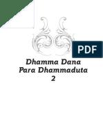 Dhamma Dana Para Dhammaduta 2