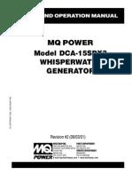Multiquip Whisperwatttm Generator Dca 15spx3 (1)
