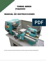 Manual Mta2540-Mta2555v