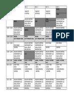 oneil kindergarten schedule  2014