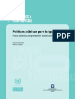 Políticas Públicas Para La Igualdad