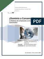 Dominio o Consenso