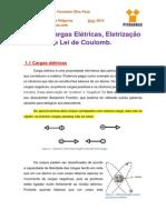 Notas de Aula 1 - Cargas Elétricas, Eletrização e Lei de Coulomb