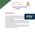 Notas de Aula 3 - Óptica Geométrica 02 (Lentes).