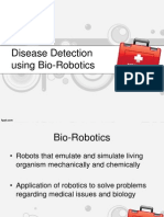 Disease Detection Using Bio Robotics