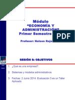 SESION 08 Economia y Administracion 2014