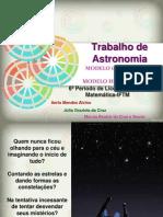 Trabalho Astronomia- Modelos Geocentrico e Heliocentrico