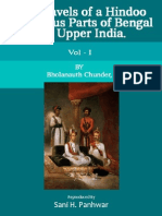 The Travels of a Hindoo to Various Parts of Bengal and Upper India - Volume I.