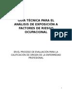 (f)Guia Técnica Analisis Exposicion Ocupacional Riesgo Biologico