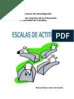 Las Escalas de Actitudes (1)