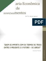 Engenharia Econômica - Análise de Investimentos