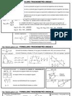 Formulas Basicas Trigonometria