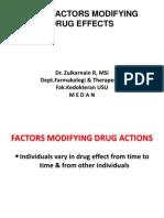 Biomedis1)Factors Modifying Drug Effects (1)