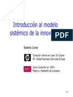 Introduccion Al Modelo de Innovacion Sistemico