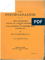 Freud 1909 Ueber Psa 8te Auflage 1930