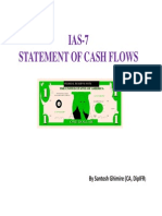 IAS-7 Statement of Cash Flows