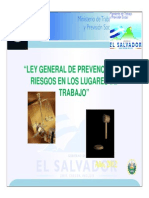 Presentacion Sobre La Ley General de Prevencion de Riesgos en Los Lugares de Trabajo