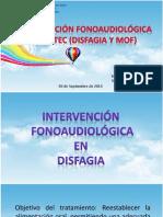 Intervencion Disfagia y Mof