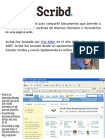 Presentación Scrib