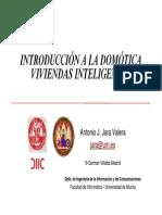 Introduccion Domotica Vivienda Inteligente