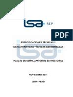 PE AM16 Especificaciones Tecnicas Señalizacion