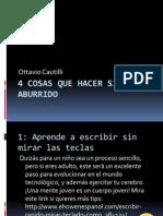 Ottavio Cautilli, qué hacer si estás aburrido.pptx