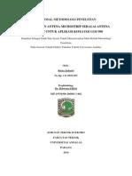 Proposal Metodologi Penelitian Bab 1 Dan 2