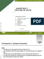 Sesion 01 Algoritmos y Estructura de Datos