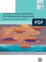 FAO - Climate Change Implications for Fisheries and Aquaculture - TP 530