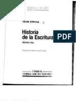 203313010 Gaur Albertine Historia de La Escritura