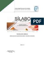 Silabo Nutric DieT Lab TM Francisco Ramirez 2014 II