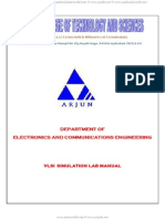 E-cad Vlsi Lab Manual
