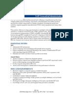 SAP Generalist