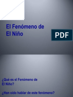 Fenomeno El Nino 2013