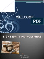 Light Emitted Polymer