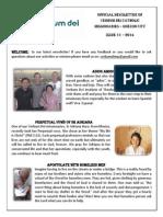 official newsletter of verbum dei quezon city no 11