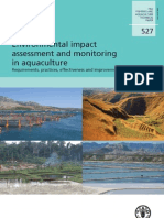 FAO - Environmental Impact Assessment and Monitoring in Aquaculture - TP 527