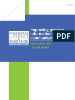 TrustFund2013 OECD Improving Pension Information and Communication
