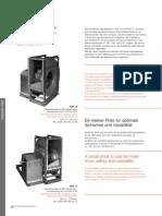 Ventilatoare Centrifugale de Desfumare RER