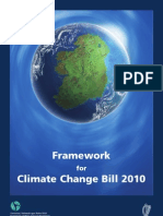 Framework for Climate Change Bill 2010