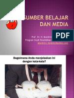 Sumber Belajar Dan Media
