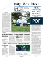 The Daily Tar Heel for Sept. 15, 2014