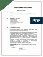 Laboratorio Informe1-Movimiento Armonico Simple