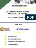 01 Presentacion UNI - Presas de Tierra - Evaluacion Hidrolo