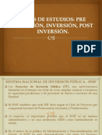 Sistema Nacional de Inversión Pública - Snip