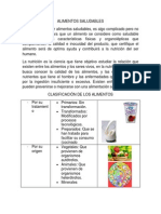 Alimentos Saludables Actividad 1 Sena