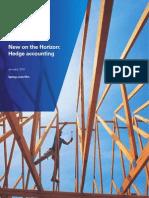 New on the Horizon Hedge Accounting January 2011