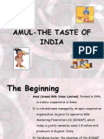 Amul-The Taste of India