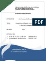 Seminario Final Carrera Medicina